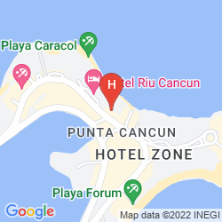 Map BE LIVE GRAND VIVA BEACH