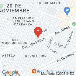 Map CASA DE LA LUNA