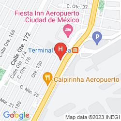 Map RAMADA AEROPUERTO MEXICO