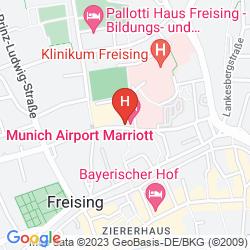 Map MUNICH AIRPORT MARRIOTT