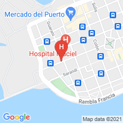 Map EMBAJADOR