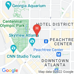 Map AC HOTEL ATLANTA DOWNTOWN