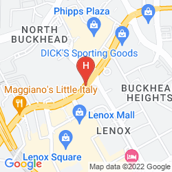 Map THE WHITLEY, A LUXURY COLLECTION HOTEL, ATLANTA BUCKHEAD