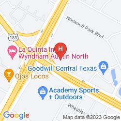 Map DAYS INN CROSSROADS