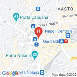 Map B&B HOTEL NAPOLI