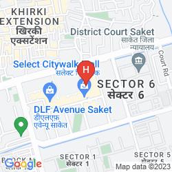 Map SVELTE HOTEL & PERSONAL SUITES