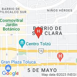 Map CITY EXPRESS TOLUCA