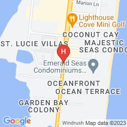 Map WESTGATE COCOA BEACH RESORT