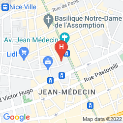 Map FLORENCE NICE