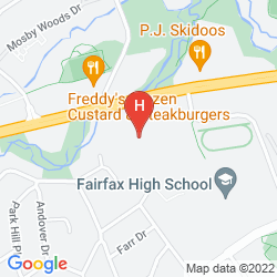 Map BEST WESTERN FAIRFAX