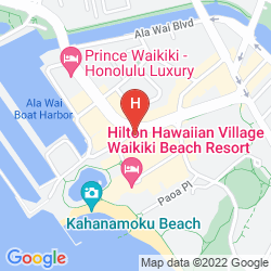 Map GRAND WAIKIKIAN BY HILTON GRAND VACATIONS