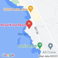 Map ROYAL KONA RESORT