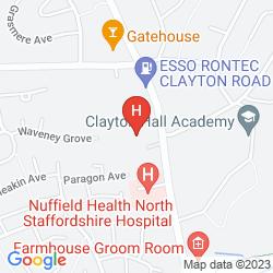 Map JARVIS CLAYTON LODGE