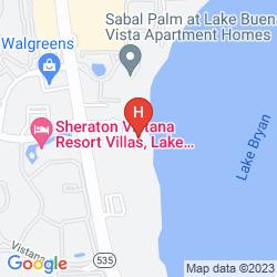 Map BLUE HERON BEACH RESORT