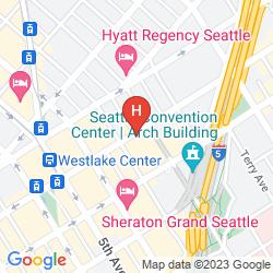 Map GRAND HYATT SEATTLE