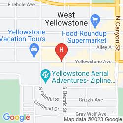 Map HOLIDAY INN WEST YELLOWSTONE