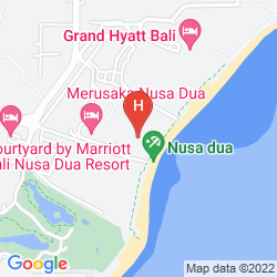 Map THE WESTIN RESORT NUSA DUA
