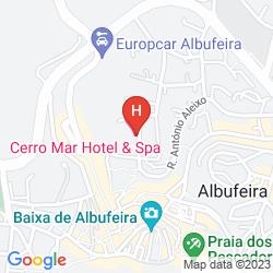 Map CERRO MAR GARDEN