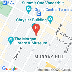 Map THE RENWICK HOTEL NEW YORK CITY, CURIO COLLECTION BY HILTON