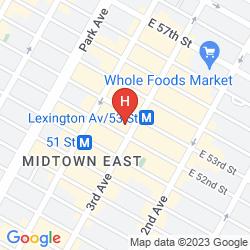 Map  COURTYARD BY MARRIOTT NEW YORK MANHATTAN/MIDTOWN EAST