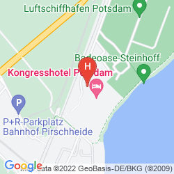 Map KONGRESSHOTEL POTSDAM AM TEMPLINER SEE
