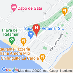 Map CABOGATA MAR GARDEN HOTEL & SPA