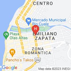 Map BELMAR HOTEL GALERIA