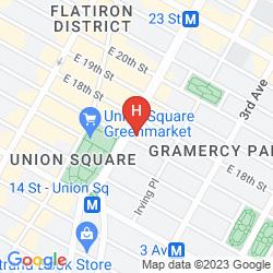Map W NEW YORK UNION SQUARE