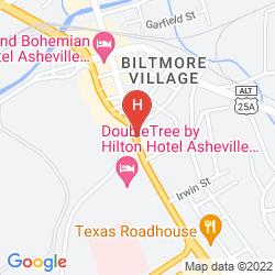 Map DOUBLETREE HOTEL BILTMORE-ASHEVILLE