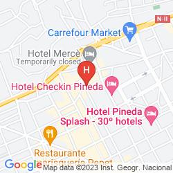 Map APARTAMENTS SORRABONA