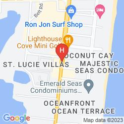 Map MOTEL 6 COCOA BEACH