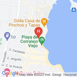 Map CORRALEJO BEACH