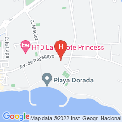 Map PRINCESA YAIZA SUITE HOTEL RESORT