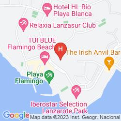 Map BUNGALOWS PLAYA LIMONES