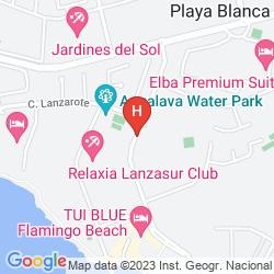 Map IBEROSTAR LANZAROTE PARK