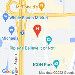 Map EMBASSY SUITES BY HILTON ORLANDO INTERNATIONAL DRIVE I DRIVE 360