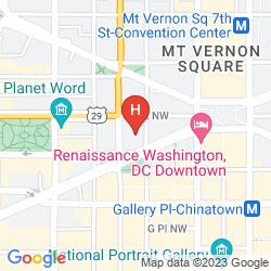 Map EMBASSY SUITES BY HILTON WASHINGTON DC CONVENTION CENTER