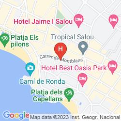 Map ALMONSA PLAYA