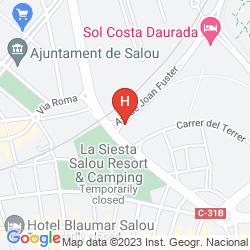 Map REGINA GRAN HOTEL
