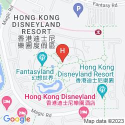 Map DISNEY'S HOLLYWOOD