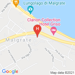 Map CLARION COLLECTION HOTEL GRISO LECCO