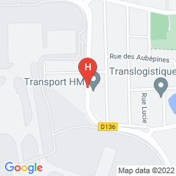 Map MERCURE RUNGIS