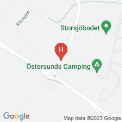 Map SCANDIC OSTERSUND SYD