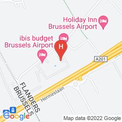Map PARKER HOTEL BRUSSELS AIRPORT
