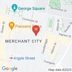Map BRUNSWICK MERCHANT CITY