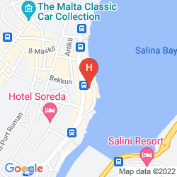 Map SUNNY COAST RESORT & SPA