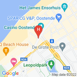 Map BEST WESTERN HOTEL IMPERIAL
