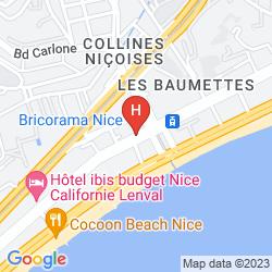 Map APARTHOTEL ADAGIO ACCESS NICE MAGNAN