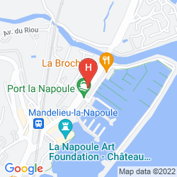 Map HERMITAGE DU RIOU
