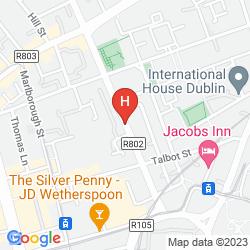 Map ABBOTT LODGE GUESTHOUSE